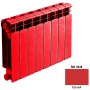 Биметаллический радиатор Rifar Base 500 - 4 секции красный